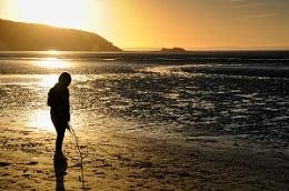 sand bay sunset