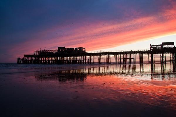 Hastings Pier by dawnrosie