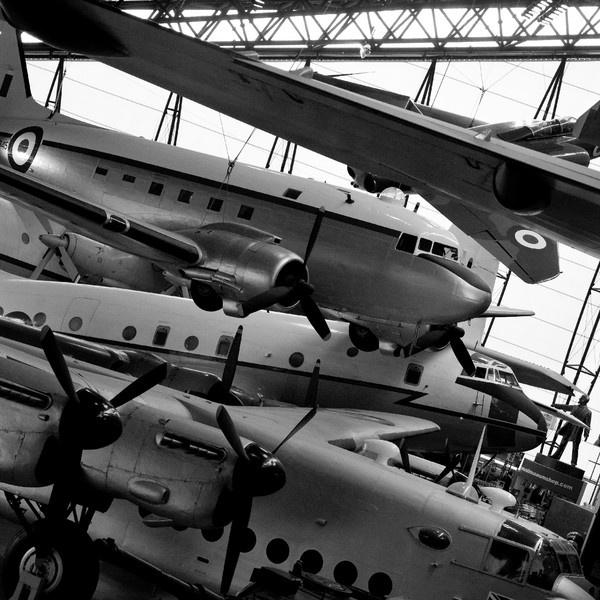 Cold War Hangar by MikeJG
