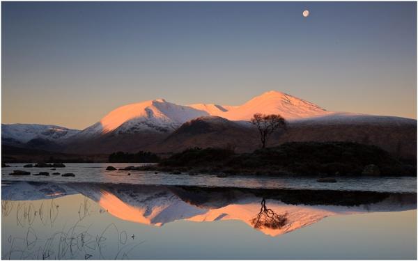 Moon... by Scottishlandscapes