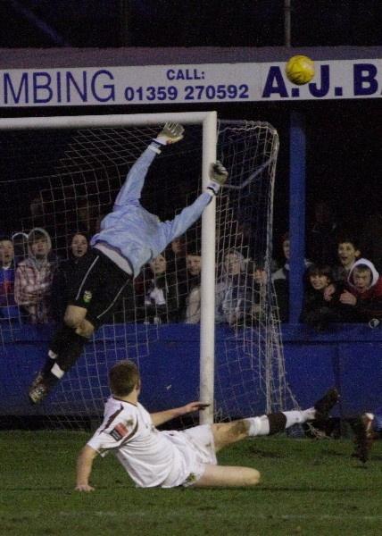 The Headless Goalkeeper by Tebbs
