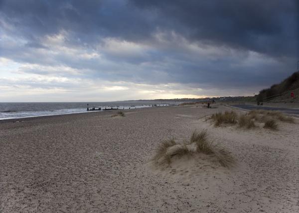 Pakefield Beach by joss