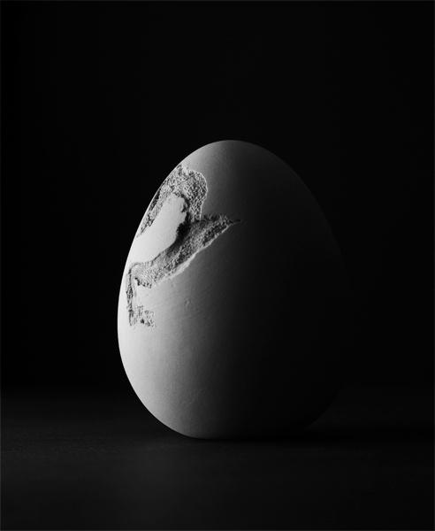 Porcelain Egg by Loudon