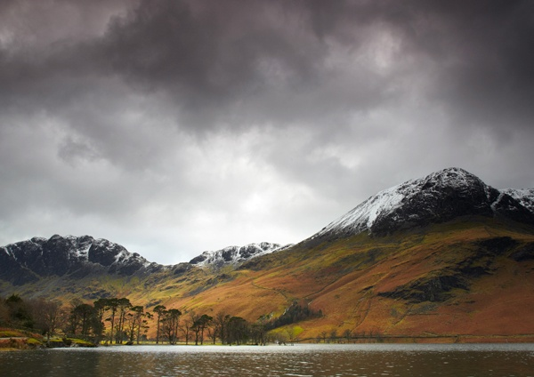 Winter Light on Buttermere by DavidWebb