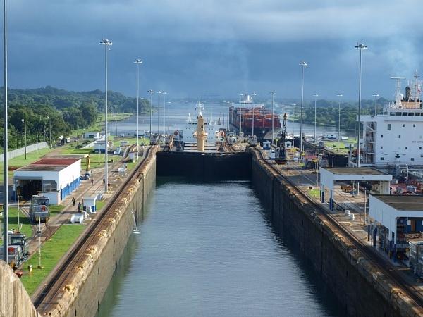 Panama Canal by portholepaul