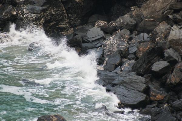 Stormy Cornish Seas by CORNISHBOY