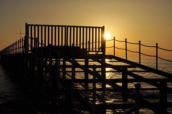Bridge into the Sunset by Markus_Brehm