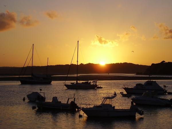 Alvor Sunset by derekoshea