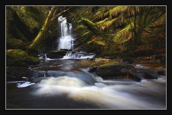 Leacann Falls by Scott_Scot