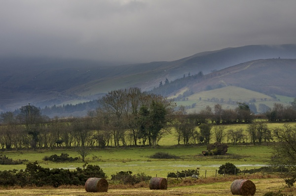 Mid Wales on a misty day by royd63uk