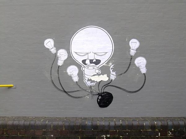 Light Bulb Hydra by Brookie9001