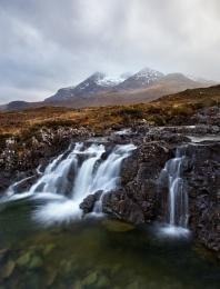Cuillin waterfall