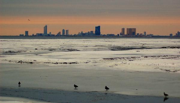 Atlantic City Sunset by SJAlfano