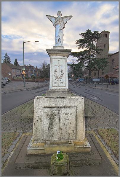 World War Angel - Ashford, Middlesex by JackAllTog