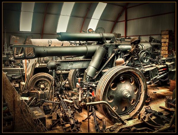 Big Gun HDR by pauldawn