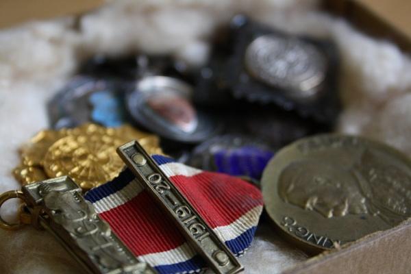 Grandad\'s Medals 2. by ClareDavid