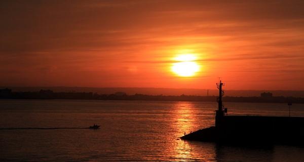 Sunrise Over Palma by Canonshot