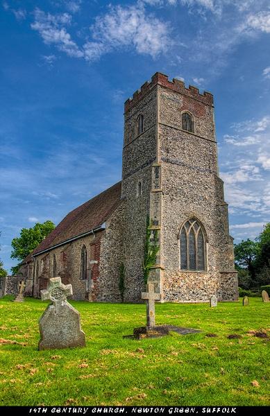 14th Century Church by pdsdigital