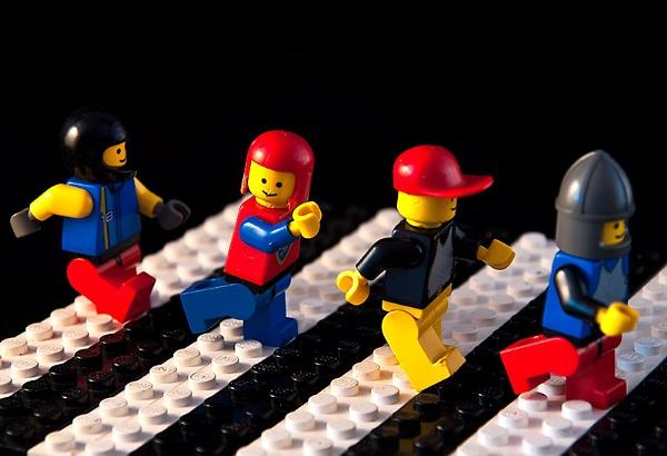 Lego Abbey Road by pdsdigital