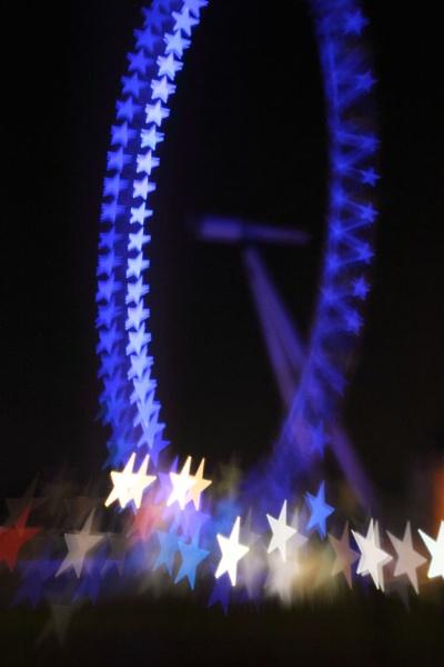 London Eye by Cristian