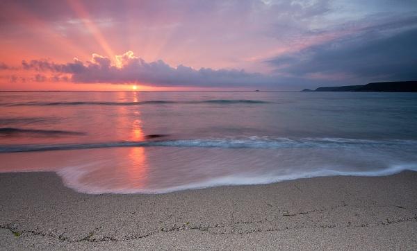 Sennen Cove Sunset - Cornwall by DouglasLatham