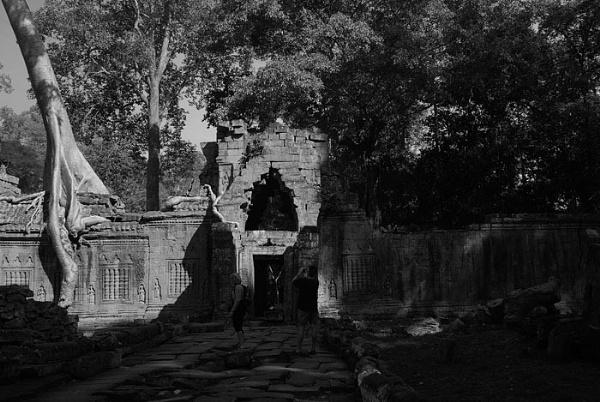 Preah Khan Temple by piggie_vickie