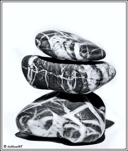 stones in mono by dabhandphotographics