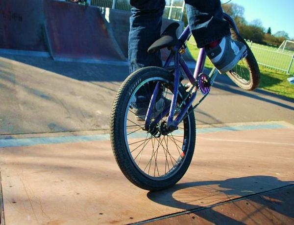 BMX Close Up by mrfmilo