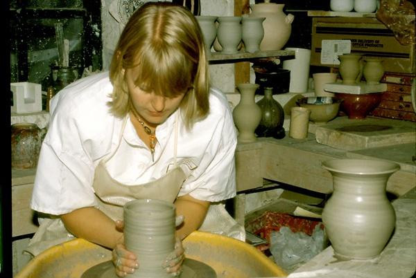 Pottery Demonstration. by Carlkuntze