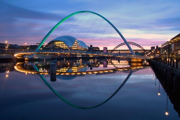 Tyne Reflection by davey