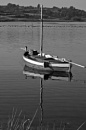 Black and White Challenge - Transport - Fishing Boat by Gaucho