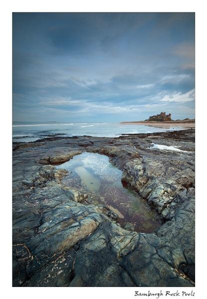 Bamburgh Rock Pools by angej