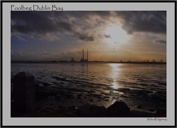 Poolbeg Dublin Bay by Ridgeway