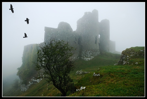 Roche castle in the mist by Fisher2