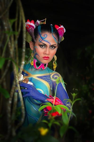 Flower Princess by photophantom