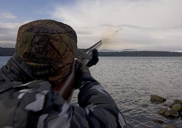Clay Pigeon Shoot by JoeBass