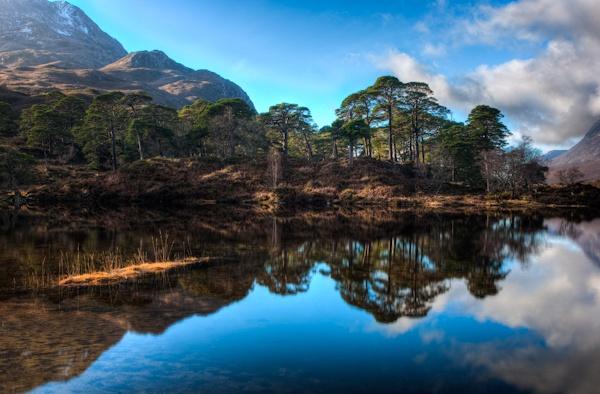 Loch Clair by blades