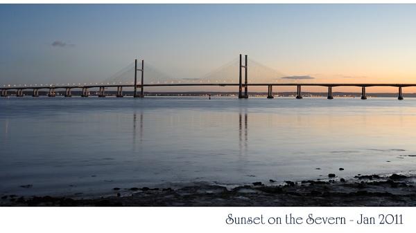 Sunset on the Severn by maroondah