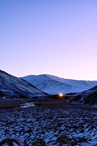 Mountain Dusk by Gemma9