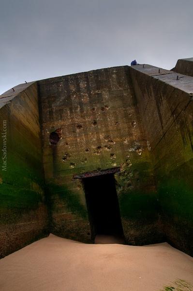 Calais, Normandy, Bunker by matyjasz