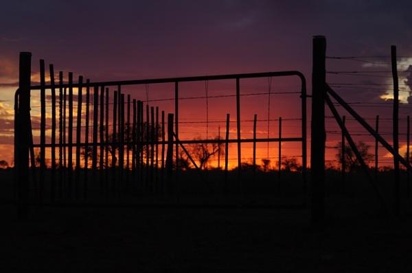 Platteland Sunset by Msalicat