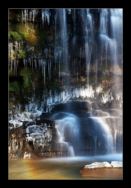 Water and Ice by jeanie