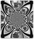 B&W Weekly Challenge - A Kaleidoscope of Time by cats_123
