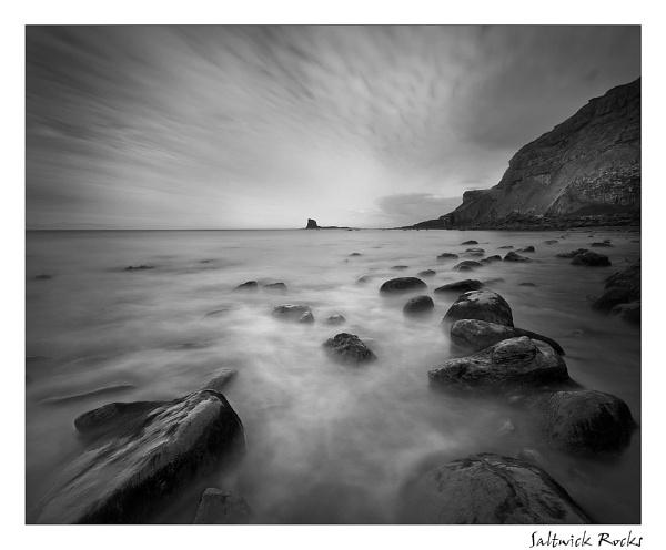 Saltwick Rocks by angej