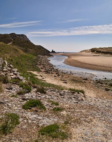 Bosherton Beach, by royd63uk