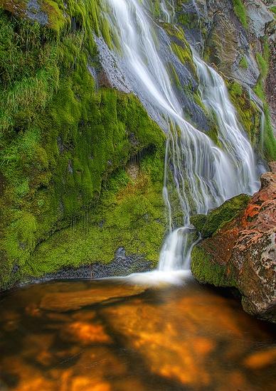 Powerscourt Waterfall by arpad