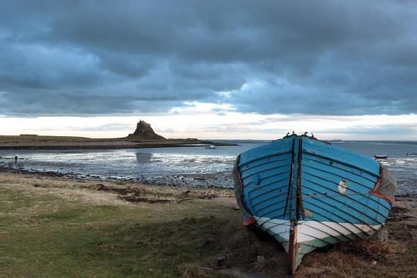 Lindisfarne View by Munro