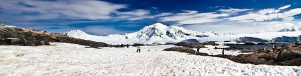 Antarctica Pano by ashminder