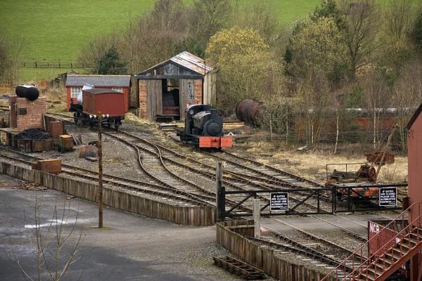 Train Yard by madbilly