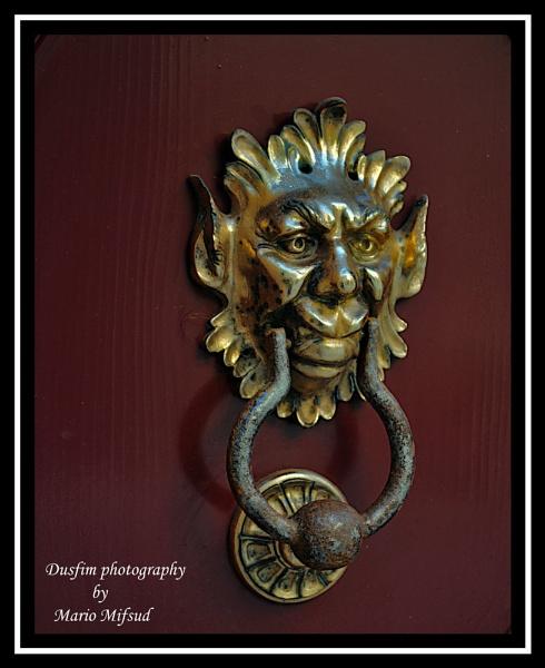 Door knocker No3 by dusfim